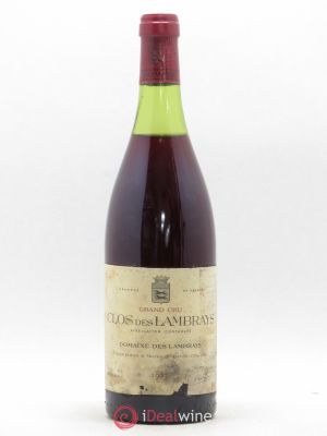Clos des Lambrays Grand Cru Domaine des Lambrays  1983 - Lot de 1 Bottle