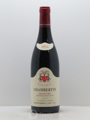 Chambertin Grand Cru Geantet-Pansiot  2016 - Lot de 1 Bouteille