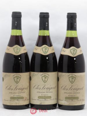 Clos de Vougeot Grand Cru Mommessin 1980 - Lot de 3 Bottles