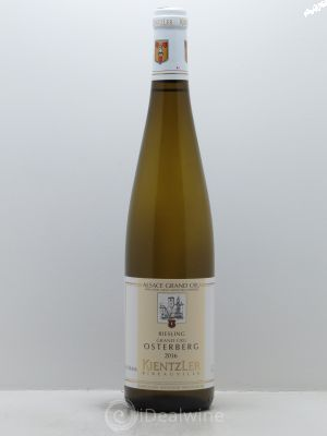 Riesling Grand Cru Osterberg Kientzler (Domaine)  2016 - Lot de 1 Bottle