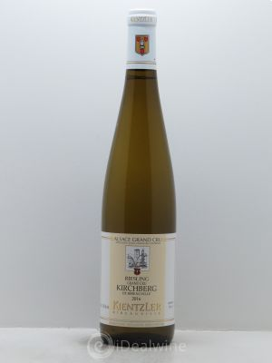 Riesling Grand Cru Kirchberg Kientzler (Domaine)  2016 - Lot de 1 Bottle