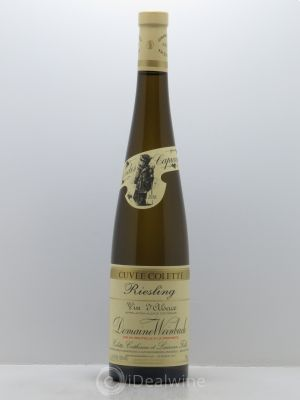 Riesling Cuvée Colette Weinbach (Domaine)  2016