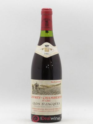 Gevrey-Chambertin 1er Cru Clos Saint-Jacques Armand Rousseau (Domaine)  1985 - Lot de 1 Bottle