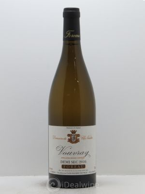 Vouvray Demi-Sec Clos Naudin - Philippe Foreau  2016