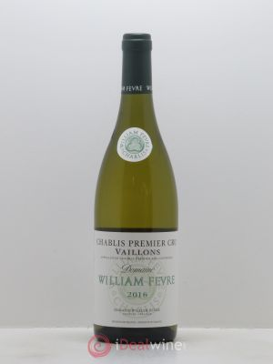 Chablis 1er Cru Vaillons William Fèvre (Domaine)  2016 - Lot de 1 Bottle