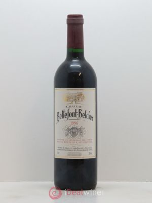 Château Bellefont-Belcier Grand Cru Classé  1996 - Lot de 1 Bottle