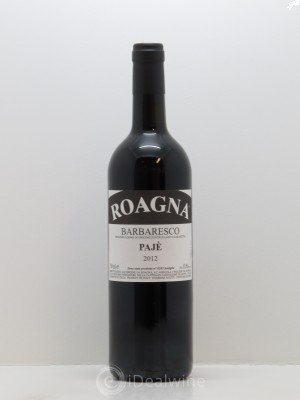 Barbaresco DOCG Pajé Roagna  2012 - Lot de 1 Bottle