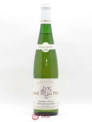 Gewurztraminer Vendanges Tardives Vendanges Tardives E.Preiss 2006 - Lot de 1 Bottle