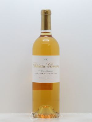 Château Climens 1er Grand Cru Classé  2010 - Lot de 1 Bottle