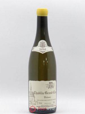 Chablis Grand Cru Valmur Raveneau (Domaine)  2016 - Lot de 1 Bottle