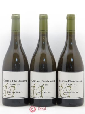 Corton-Charlemagne Grand Cru Philippe Pacalet 2011 - Lot de 3 Bouteilles