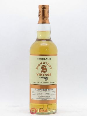 Whisky Signatory Aultmore 16 years  1989 - Lot de 1 Bouteille