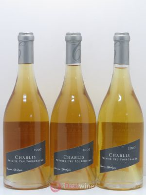 Chablis 1er Cru Fourchaume Domaine Philippe Charloppin 2007 - Lot de 3 Bouteilles