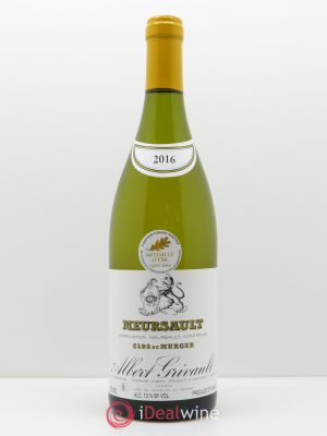 Meursault Clos du Murger Albert Grivault (Domaine)  2016 - Lot de 1 Bottle