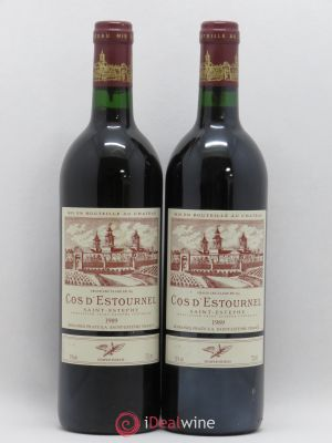 Cos d'Estournel 2ème Grand Cru Classé  1989 - Lot de 2 Bottles