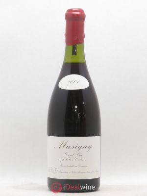 Musigny Grand Cru Leroy (Domaine)  2001 - Lot de 1 Bottle