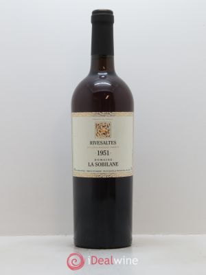 Rivesaltes La Sobilane (Domaine)  1951 - Lot de 1 Bottle