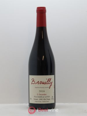 Brouilly Georges Descombes (Domaine)  2016