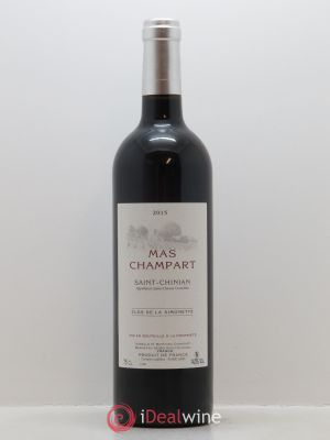 Saint-Chinian Mas Champart Clos La Simonette Isabelle et Mathieu Champart  2015 - Lot de 1 Bottle
