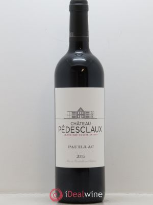 Château Pedesclaux 5ème Grand Cru Classé  2015 - Lot de 1 Bottle