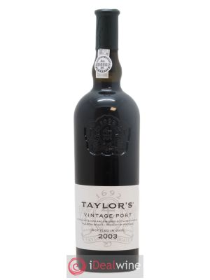 Porto Taylor's Vintage  2003 - Lot de 1 Bottle