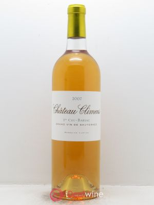 Château Climens 1er Grand Cru Classé  2007 - Lot de 1 Bottle