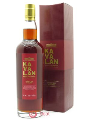 Whisky Ex-Sherry Oak Kavalan (70cl) ---- - Lot de 1 Bottle
