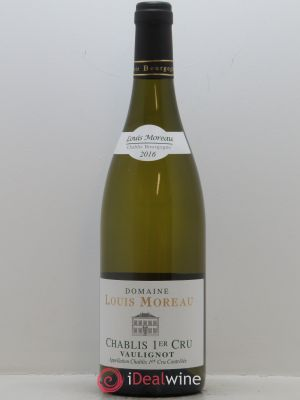 Chablis 1er Cru Vaulignot Louis Moreau  2016 - Lot de 1 Bottle