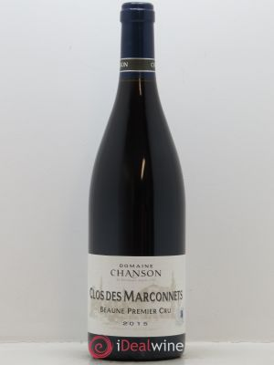 Beaune 1er Cru Clos de Marconnets Chanson  2015 - Lot de 1 Bottle