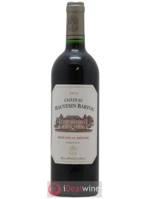 Château Mauvesin Barton  2012 - Lot de 1 Bottle