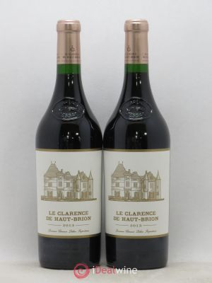 Clarence (Bahans) de Haut-Brion Second Vin  2013 - Lot de 2 Bouteilles