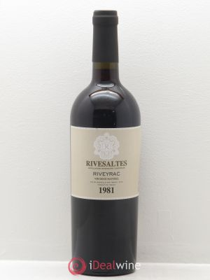 Rivesaltes Riveyrac (Domaine)  1981 - Lot de 1 Bottle