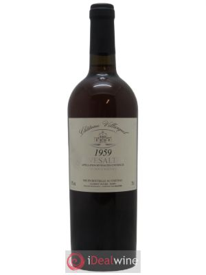 Rivesaltes Château Villargeil  1959 - Lot de 1 Bottle