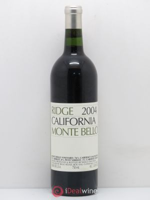 Santa-Clara Ridge - Monte Bello Ridge Vineyards  2004