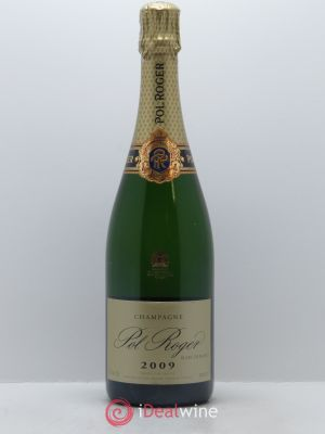 Blanc de blancs Pol Roger  2009 - Lot de 1 Bottle