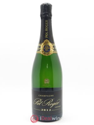 Brut Vintage Pol Roger  2012 - Lot de 1 Bottle