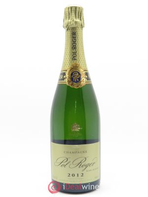 Blanc de blancs Pol Roger  2012 - Lot de 1 Bottle