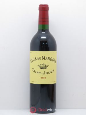 Clos du Marquis  2003 - Lot de 1 Bottle