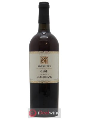 Rivesaltes La Sobilane (Domaine)  1961 - Lot de 1 Bottle