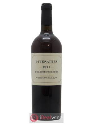 Rivesaltes Casenobe (Domaine)  1971 - Lot de 1 Bottle