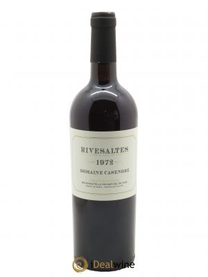 Rivesaltes Casenobe (Domaine)  1972 - Lot de 1 Bottle