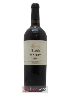 Maury L'Archiviste  1989 - Lot de 1 Bottle