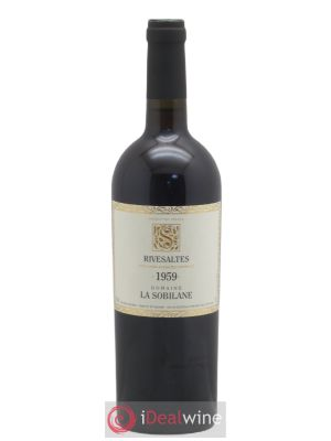 Rivesaltes La Sobilane (Domaine)  1959 - Lot de 1 Bottle