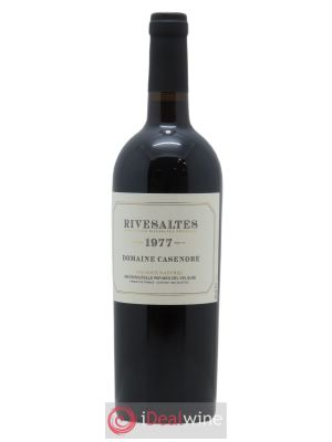 Rivesaltes Casenobe (Domaine)  1977 - Lot de 1 Bottle
