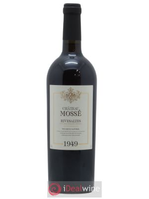 Rivesaltes Château Mossé  1949 - Lot de 1 Bottle