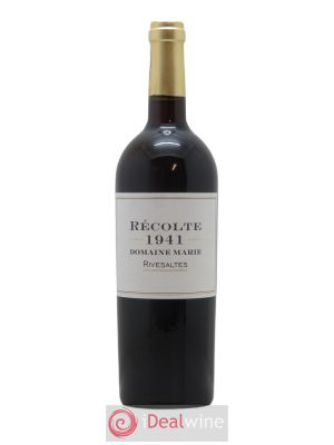 Rivesaltes Marie (Domaine)  1941 - Lot de 1 Bottle