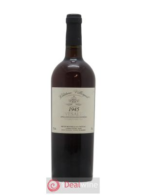 Rivesaltes Château Villargeil  1945 - Lot de 1 Bottle