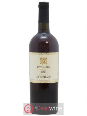 Rivesaltes La Sobilane (Domaine)  1963 - Lot de 1 Bottle