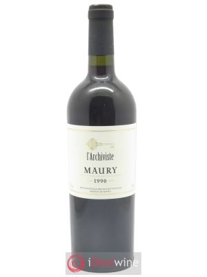 Maury L'Archiviste  1990 - Lot de 1 Bottle
