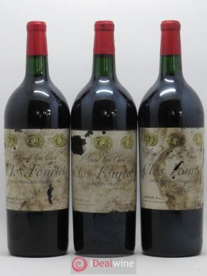 Clos Fourtet 1er Grand Cru Classé B  1997 - Lot de 3 Magnums